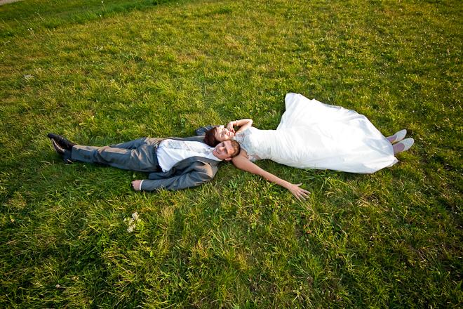 zapatrzenie fotografia ślubna